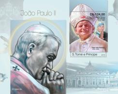 Z08 ST190413b Sao Tome And Principe 2019 John Paul II MNH ** Postfrisch - São Tomé Und Príncipe