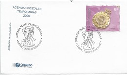 ARGENTINA 2006, COVER WITH SPECIAL POSTMARK WAGNER PHILATELIC WORKSHOP, MUSIC - Argentina