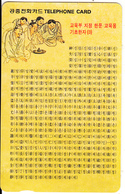 SOUTH KOREA - Basic Chinese Designed By(W5000), 03/98, Used - Korea (Zuid)
