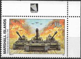 1991 Marshall Islands Mi. 361 **MNH Geschichte Des Zweiten Weltkrieges :   Deutsche Invasion In Russland - Marshall