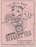 PETIT BUVARD LA MOUTARDE DESSAUX FILS - Mostard