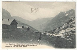 05 - Environs Du Lautaret - La Vallée De La Guisanne Vue Du Tunnel Du Galibier - Robert 971 - 1908 - Otros Municipios