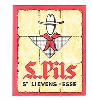 ETIQUETTE BIERE S.PILS / ST LIEVENS- ESSE - Beer