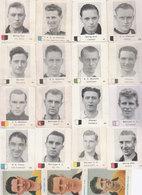 Lot 19 Chromos Football  Belgique 1950 - Andere