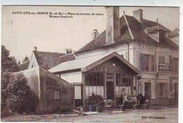 77. SAINT CYR SUR MORIN . PLACE DU BUREAU DE TABAC . MAISON BOUDROIT . CAFE  BILLARD . Editeur BOUDROIT - Autres Communes