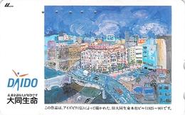 PEINTURE - TABLEAU - ART - PEINTRE - Télécarte Japon - Schilderijen