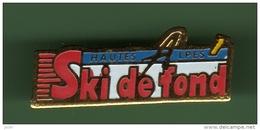 SKI DE FOND *** HAUTES ALPES *** 1019 - Sports D'hiver