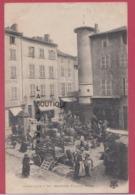 43 - BRIOUDE---Place Du Mazel---marché---animé - Brioude