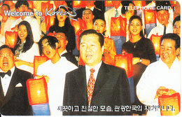 SOUTH KOREA - Welcome To Korea(W3000), 12/98, Used - Korea (Zuid)