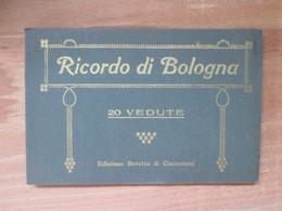 Carnet De    20 Vues    Ricordo Di  Bologna - Andere