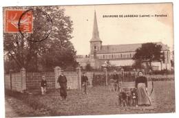 Environs De JARGEAU - FEROLLES ( Attelage De Chiens P.plan.). - Jargeau