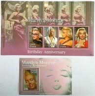 # Ghana 2006**Mi.3917-21 Marilyn Monroe , MNH [17;23] - Beroemde Vrouwen