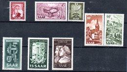Sarre  / Lot De Timbres   / NEUFS** - 1947-56 Protectorate