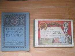 4 Livret Artistiques Pise .rome . Venise - Vieux Papiers