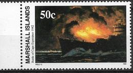 1992 Marshall Islands Mi. 443 **MNH Geschichte Des Zweiten Weltkrieges :   Die Seeschlacht Bei Cape Esperance. - Marshall