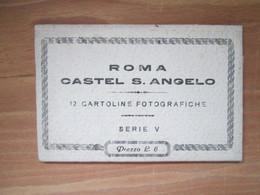 Carnet  Roma Castel S Angelo - Castel Sant'Angelo