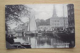 DANIMARCA DENMARK KOBENHAVN  COPENAGHEN POST CARD OVENGARDEN VANDET NOT SEND - Danimarca