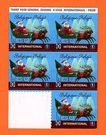 Belgique 2011 - Noël, Père Noël Et Traineau X 5 - Neuf ** COB 4088 - Belgique
