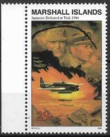 1994 Marshall Islands Mi. 503 **MNH Geschichte Des Zweiten Weltkrieges :  Bombardierung Des Japanischen Marinestützpunkt - Marshall