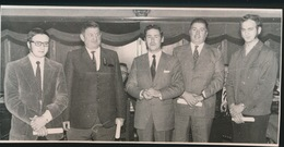 MALDEGEM --  FOTO 1973 = 14 X 8 CM ==    BEVRETEN LAUREATEN V/D ARBEID - Maldegem