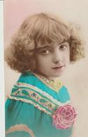 C. P. A - FILLETTE MÉLANCOLIQUE - Women