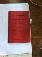 La Spoliation De L'Eglise De France Par Émile Chenon - Religione & Esoterismo