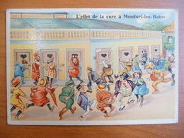 CPA - L'effet De La Cure à Mondorf-les-Bains - Portes à Ouvrir - Humor