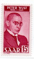 Sarre  / N 258 / 15 Francs Rouge  / NEUF**  / Côte 12 € - 1947-56 Gealieerde Bezetting