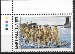 1994 Marshall Islands Mi. 554 **MNH Geschichte Des Zweiten Weltkrieges :  Die Rückkehr Von General MacArthur Auf Die Phi - Marshall