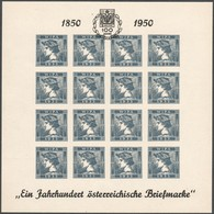 """Österrreich 1933: ND Kleinbögen """"WIPA 1933- Merkurkopf """" Mit Zusatzaufdruck - Ungebraucht"""