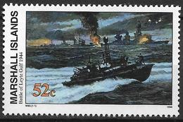 1994 Marshall Islands Mi. 556 **MNH Geschichte Des Zweiten Weltkrieges : Die Schlacht Am Leyte-Golf - Marshall