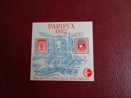 Planche  Salon Philatélique D'automne - Paripex 1982 Cnep - N 00647 - CNEP