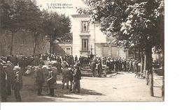 RHONE  COURS LE CHAMP DE FOIRE ANIMEE ECRITE - Cours-la-Ville