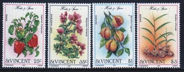 St.Vincent 1985 Set Of Stamps To Celebrate Herbs And Spices. - St.Vincent (1979-...)