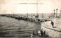 33 ARCACHON  LA NOUVELLE JETEE - Arcachon