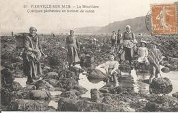 CPA 155 - VIERVILLE SUR MER - La Moulière - Visvangst