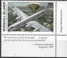 1995 Marshall Islands Mi.609**MNH Geschichte Des Zweiten Weltkrieges:Atombombenabwurf Auf Hiroshima - Marshall