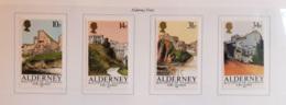 Aldernay 1986 Unif.28/31 **/MNH VF - Alderney