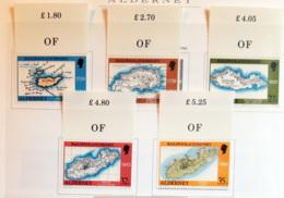 Aldernay 1989 Unif.37/42 **/MNH VF - Alderney