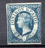 ILES IONIENNES - (Possession Britannique) - 1859 - N° 2 - 1 P. Bleu - (Victoria) - Other