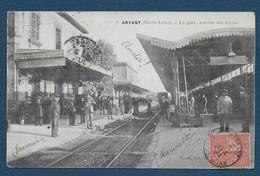 ARVANT - La Gare , Arrivée Des Trains - Andere Gemeenten
