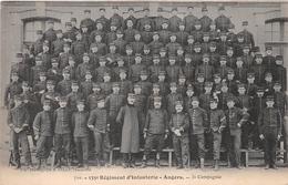 ¤¤  -   ANGERS    -   Le 135e Régiment D'Infanterie  -  3e Compagnie   -   Militaires   -  ¤¤ - Angers
