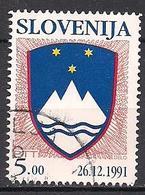 Slowenien  (1991)  Mi.Nr.  5  Gest. / Used  (7fg44) - Slowenien