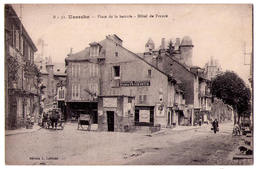 5080 - Uzerche ( 19 ) - Place De La Bascule ( Hotel De France ) - édit. L.L. N°B31- - Uzerche