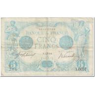 France, 5 Francs, Bleu, 1915, 1915-06-04, TB, Fayette:2.28, KM:70 - 1871-1952 Circulated During XXth