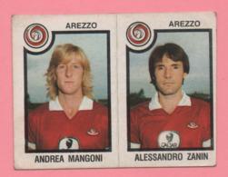 Figurina Panini 1982/83 - Arezzo, Andrea Mangoni E Alessandro Zanin - Trading Cards
