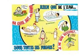 Cpm - Santé - LES CURISTES - A.Allouin Illustration Masseur Kinésithérapeute Homme Mi-nu Ressort - Santé