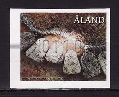 Aland, 2017, ATM Self Adh. , Fisheries, Stamp - Aland