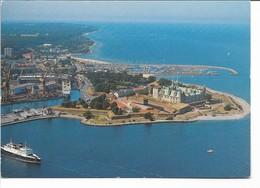 Kronborg Castle. Harbour - Ferry - Shipyard. Elsinore Denmark. # 03622 - Castelli