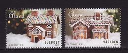 Aland, 2017, Christmas 2 Stamps - Aland